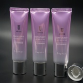 eco-friendly 30g Oval Cosmetic Oval Packaging Tubes Empty BB Cream Plastic tube