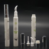 New Design ! 19dia massage eye cream tube with ceramic applicator