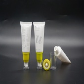 Round 30ML 1OZ Plastic Soft PE Airless Tube With Pump