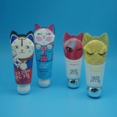 Cute Animal Shape Laminated Tube For Bady Lotion Cosmetic Tube