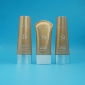 cosmetic super oval packaging tube